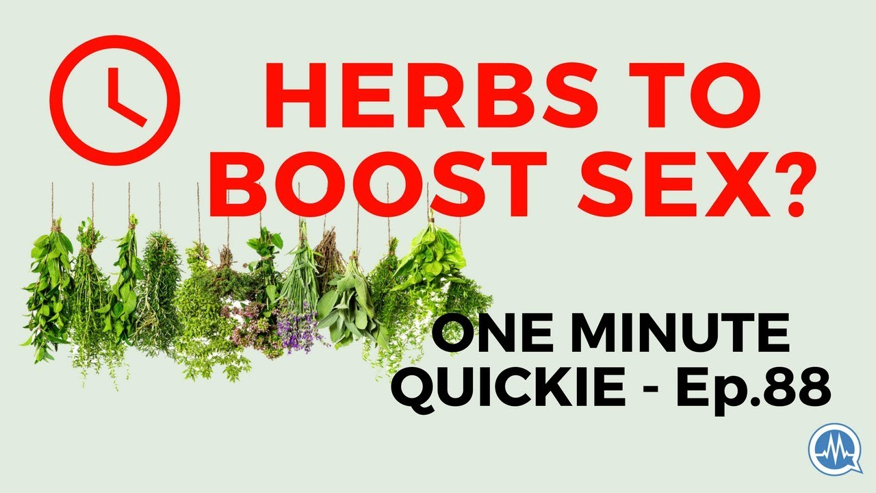 herbs for sex